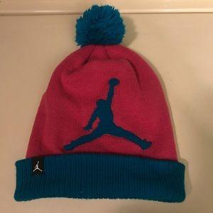 Girls Jordan winter hat